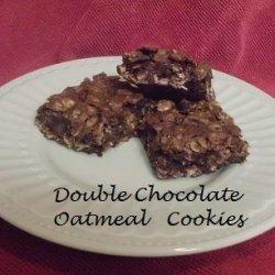 Double Chocolate Oatmeal Cookie recipe