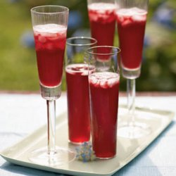Champagne Pomegranate Cocktail recipe