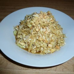 Ramen Slaw Salad recipe