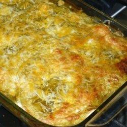 Spicy Chicken and Hazelnut Enchiladas recipe