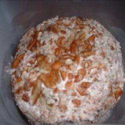 Krissy's  Famous  Dried Beef Cheese Ball or Log recipe