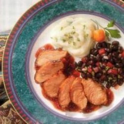 Grilled Duck Breast With Prickly Pear BBQ Sauce recipe