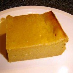 Pumpkin Pudding Squares recipe