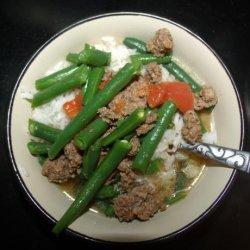 Ground Beef Soup Casserole recipe