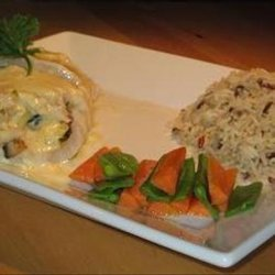 Stuffed Snapper With Orange and Lime recipe