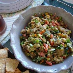 Roasted Eggplant Salad recipe