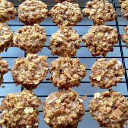 Healthy Peanut Butter Banana Oatmeal Cookies recipe