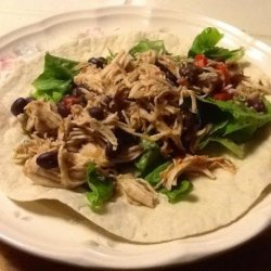 Zesty Chicken With Black Beans recipe