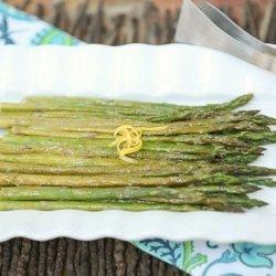 Asparagus in Vinaigrette recipe