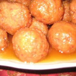 Sweet and Sour Ham Meatballs recipe