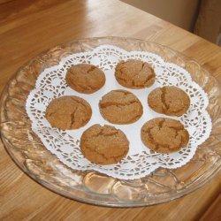 Grandma's Molasses Christmas Crinkles recipe