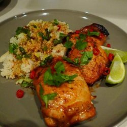 Paprika Butter Chicken With Couscous recipe