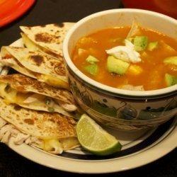 Bear's Tortilla Soup recipe