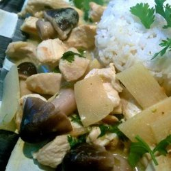 Coconut Lime Chicken Curry recipe