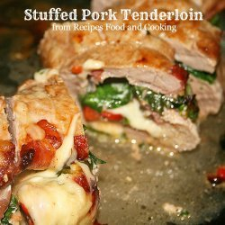 Stuffed Pork Tenderloin recipe