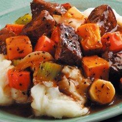 Winter Beef Stew recipe