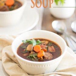 Beef Vegetable Soup recipe