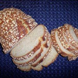 Toasted Oat Bread recipe
