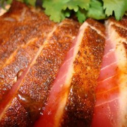 Red Chile Seared Tuna With Teriyaki Glaze recipe