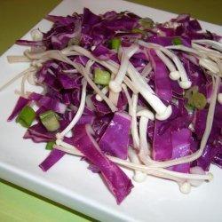 Marinated Enoki Salad recipe