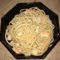 Shrimp and Crab Linguini recipe