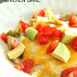 Southwest Chicken Bake recipe