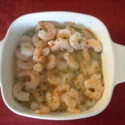 Microwave Shrimp Scampi recipe