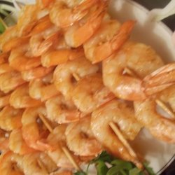 Grilled Shrimp Kabobs With Creole Butter recipe