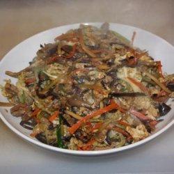 Mu Shu Pork With Mandarin Pancakes recipe