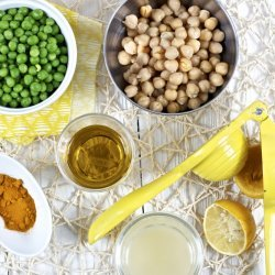 Green Pea Hummus recipe