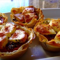 Little Bistro Starters With Tomato and Pesto recipe