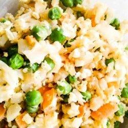 Take-Out Umami Cauliflower Fried Rice recipe