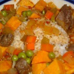 Smokey Duck and Sweet Potato Soup recipe