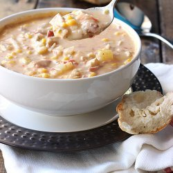 Corn and Chicken Chowder recipe