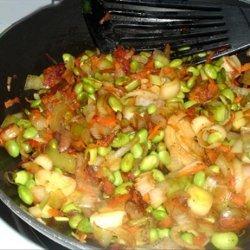 Soya Bean Stir Fry recipe