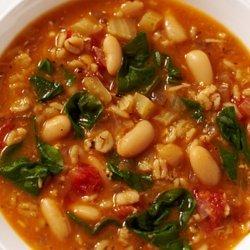Bean and Barley Soup recipe