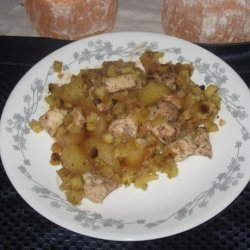 Chicken With Apples and Stuffing recipe