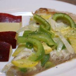Homemade Veggie Pizza recipe