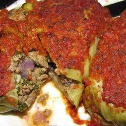 Beef N Veg Cabbage Rolls recipe