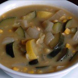 Creamy & Chunky Corn Soup recipe