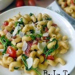 Bacon and Tomato Pasta recipe