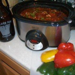 Boulder Dam Slow Cooker Chili recipe