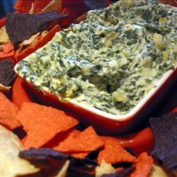 Easy and Delicious Spinach and Artichoke Dip recipe