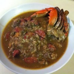 Seafood & Andouille Gumbo recipe