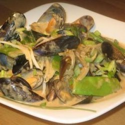 Thai Green Mussel Curry recipe