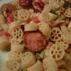 Turkey Sausage and Lemon Pasta recipe