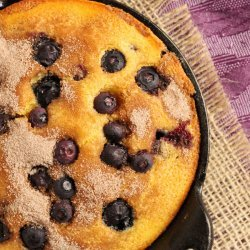 Blueberry Corn Bread recipe