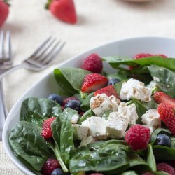 Spinach Salad with Feta Cheese recipe