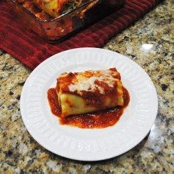 Spinach Lasagna Roll-Ups recipe