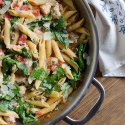 Skillet Chicken Pasta recipe